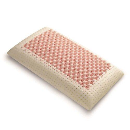 Perna memory cu masaj Thermo Pink Dual Air Massage