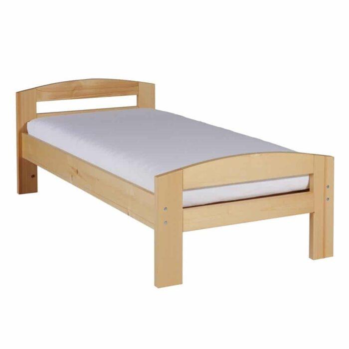 Pat dormitor Erling din lemn masiv - 1 persoană