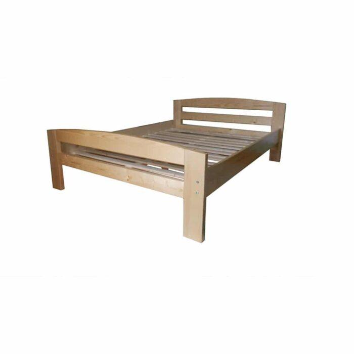 Pat dormitor Erling lemn masiv brad 2 persoane 01