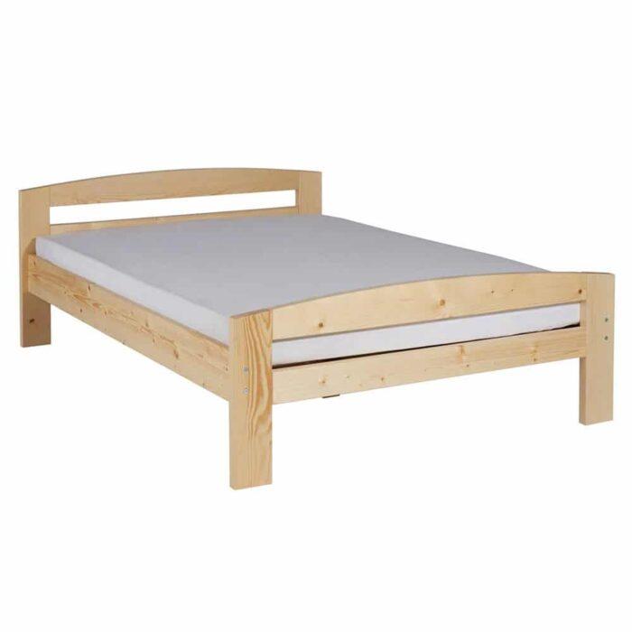 Pat dormitor Erling lemn masiv brad 2 persoane